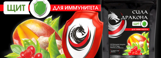 """Со щитом или на щите?  """"Сила дракона"""" Щит - напиток для иммунитета"""