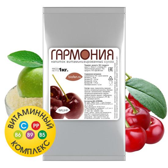 Витаминизированный сухой напиток с БИОФЕНОМ®. ВИШНЯ